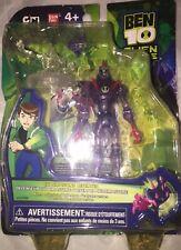 "New Chromastone Defender 4"" Ben 10 Alien Force Action Figure Bandai #27702"