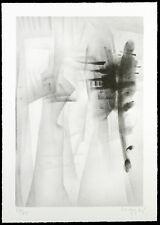 Informel. Untitled 1985. Lithographie Oscar WIGGLI (1927-2016 SUI), handsigniert