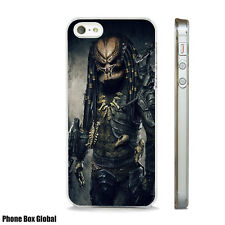 NEW PREDATOR ART  PHONE CASE FITS APPLE IPHONE 4 5 6 7 8 SE PLUS & X aliens