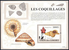 Comoro Islands - 2009 s/s of 1 Shells and Lighthouses #1084 cv $ 15.50 Lot # 92