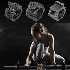 "Olympic Dumbbell Barbell Bar Lock 2"" Weight Clamps Spinlock Collars Gym Training"
