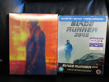 Blade Runner 2049 HDZeta Double Lenticular +3D/2D Blu-Ray Steelbook Region Free