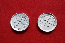 """Lot of 2 2x The Big Easy Tobacco Co. Pipe Pouch Button Humidors Discs 1 1/16"""""""