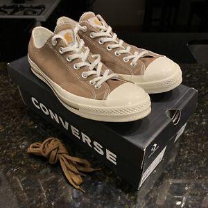 Carhartt WIP x Converse Chuck Taylor 70 Low - Hamilton Brown - Men's Size 10.5