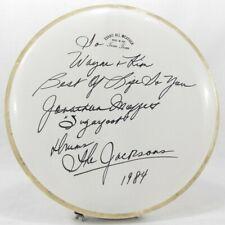 Jonathan Moffett Signed Drum Head Michael Jackson Victory Tour Vintage 1984 RARE