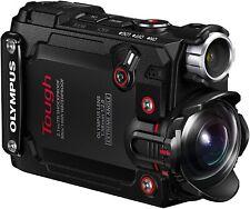 Olympus Stylus TG-Tracker schwarz Tough outdoor Kamera wasserdicht 4K