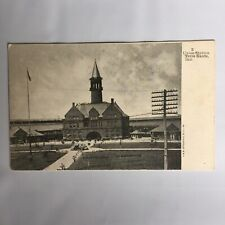 Union Station Terre Haute Indiana Unposted Postcard