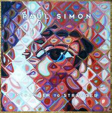 Paul Simon Stranger To Stranger 2016 Ltd Ed Rare Poster +Free Folk Rock Poster