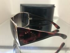 marc by marc jacobs MMJ 046/S sunglasses gold animal print women's & case