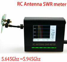 RC Antenna SWR meter 5.645Ghz~ 5.945Ghz Antenna Standing Wave TFT touch screen