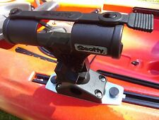 Fly Rod Holder for Yak Attack Geartrac Scotty Kayak Slide Rail