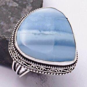 Owyhee Opal Ethnic Handmade Antique Design Ring Jewelry US Size-9 AR 41322