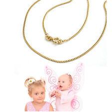 Baby Kinder Kette Collier Panzer Halskette Länge 38 cm Echt Gold 333 Gelbgold