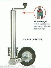 Stützrad Winterhoff Automatik 500 kg mit 60 mm Rohr Rad 225x70 mm Neu 110060