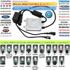 PHILIPS CAN-BUS Slim BALLASTS HID XENON KIT 2006 2007 2008 2009 2010 Civic 6000K