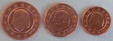 1+2+5 Euro Cent Belgien 2003 unz