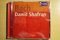 CD - BACH SUITES FOR SOLO CELLO Daniil Shafran