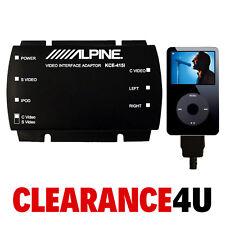 Alpine KCE-415I Adaptador iPod video para el entretenimiento para el asiento trasero