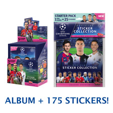 2019-20 Pegatinas TOPPS Champions League 30 Pack CAJA + Arrancador álbum 175 pegatinas!