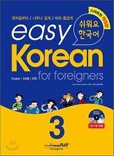 Easy Korean for Foreigner 3 English Speakers w/ CD Free Ship