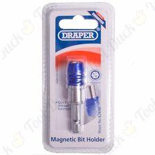 "FAST CHANGE MAGNETIC BIT HOLDER 1/4"" Hex Shank Power Drill Extension/Adaptor Bar"