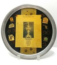 Preakness, Pimlico Race OOAK Pewter & Acrylic Art Tray Display Collectible