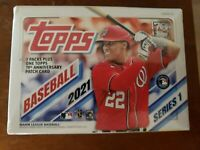 2021 Topps Baseball Series 1 Blaster Box 7 Packs Brand New. Factory Sealed.