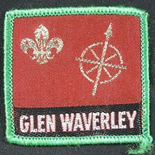 Vintage Patch BSA 1970's Australian Glen Waverley