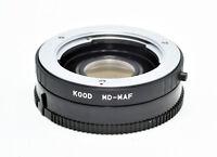 Kood Minolta MD MC lens to Minolta Dynax Sony Alpha MA Mount Adapter