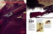 Marlin 1973 Gun Catalog