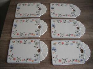 Villeroy Boch V&B Mariposa 1 Brettchen Frühstücksbrettchen Porzellan Wie Neu
