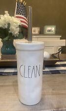 RAE DUNN by Magenta - CLEAN - LL White Toilet Brush - NWT