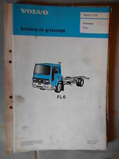 Volvo camion FL6 : schéma de graissage