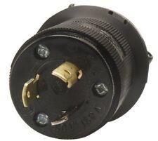 Coleman Cable 05986 Replacement Nylon NEMA L25-20P 20Amp Locking Cord End,Plug