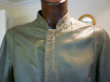Da Uomo Autentico Vintage 80 S Cafe Racer Leather Jacket taglia M Medium L Large in buonissima condizione Indie