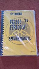 NOS Original Yamaha Service Anleitung 3he-28179-20 21 FZR600 FZR500