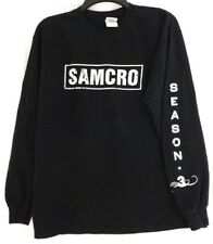 SONS OF ANARCHY SAMCRO SHIRT*NWOT*Black*M*Long Sleeve*Season 3