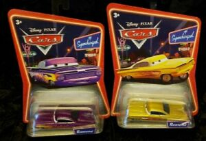 DISNEY PIXAR CARS * LOT OF 2 * VARIATIONS OF RAMONE * SUPERCHARGED, AWESOME SET