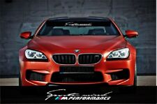 BMW Motorsport Windshield sun strip Decal Sticker E46 E36 E60 E63 X1 M1 M2 M3 M4