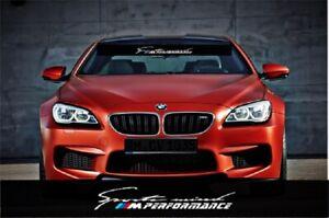 BMW Motorsport Windshield sun strip graphic logo E46 E36 E60 E63 X1 M1 M2 M3 M4