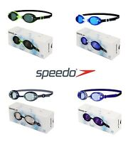 SPEEDO JET SENIOR ADULT UV ANTI FOG SWIMMING GOGGLES NEW RRP £10 FREE UK POST