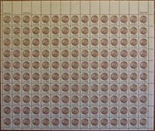UNITED STATES #1734: Full MNH Sheet of 150; 13c Indian Head Penny issue