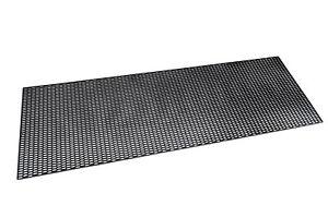 Grille Universelle Calandre Noir Nid D'abeille Pare-Choc Prise D'air 120 x 40 cm