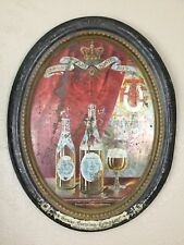 1890's Texas Brewing Company Fort Worth TX Pre-Prohibition Charger Tray XL