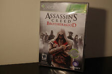 Assassin's Creed: Brotherhood  (Xbox 360, 2010) *New/Factory Sealed