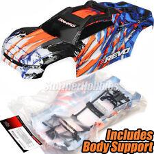 Traxxas 8611A E-Revo 2.0 VXL Body! Orange Body E-Revo Includes Body Support!