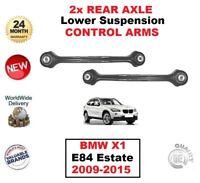 2x Posteriore Asse Sinistro + Destro Inferiore Bracci di Controllo per BMW X1