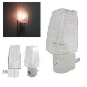 Wall Mounting Safety Bedroom Night Motion Lamp Sensor Light Plug Lighting Bulb