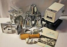 Vintage Meat Grinder Salad Chopper RIVAL GRIND-O-MATIC 2700 Electric Heavy Duty