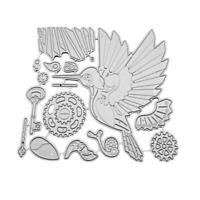 Woodpecker Metal Cutting Dies Mold Scrapbooking Embossing Gift Craft DIY G1C8